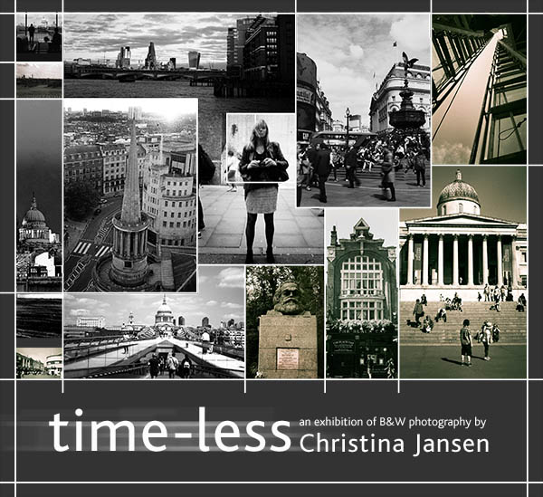Time-less B&W photography. Christina Jansen. Primrose Hill. London